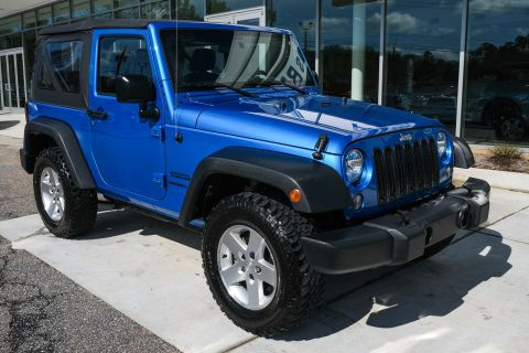 Pre-Owned 2015 Jeep Wrangler Sport